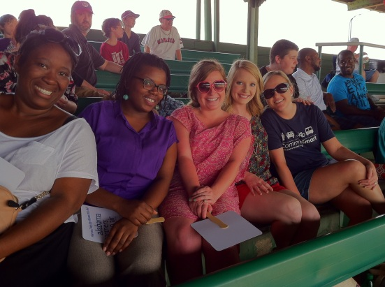The CommuteSmart team enjoyed the Barons game!